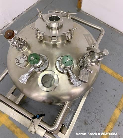 Used-Inow Ouest 100 liter Vacuum Tank- Ouest Vacuum Tank- 100 Liter- Stainless Steel- 0.41 MPA at 100 degrees C- built 2008-...