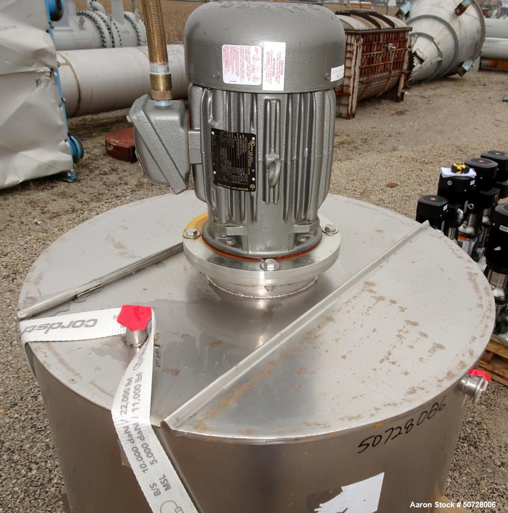 Used- Mix Tank, Approximate 125 Gallon