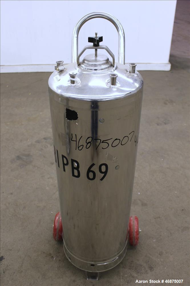 Used- Alloy Products Tank, 60 Liter (15.8 Gallons)