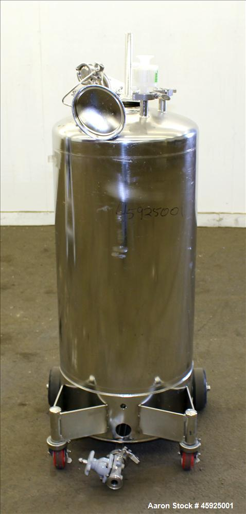 Used- Alloy Products Pressure Tank, Approximately 30 Gallon