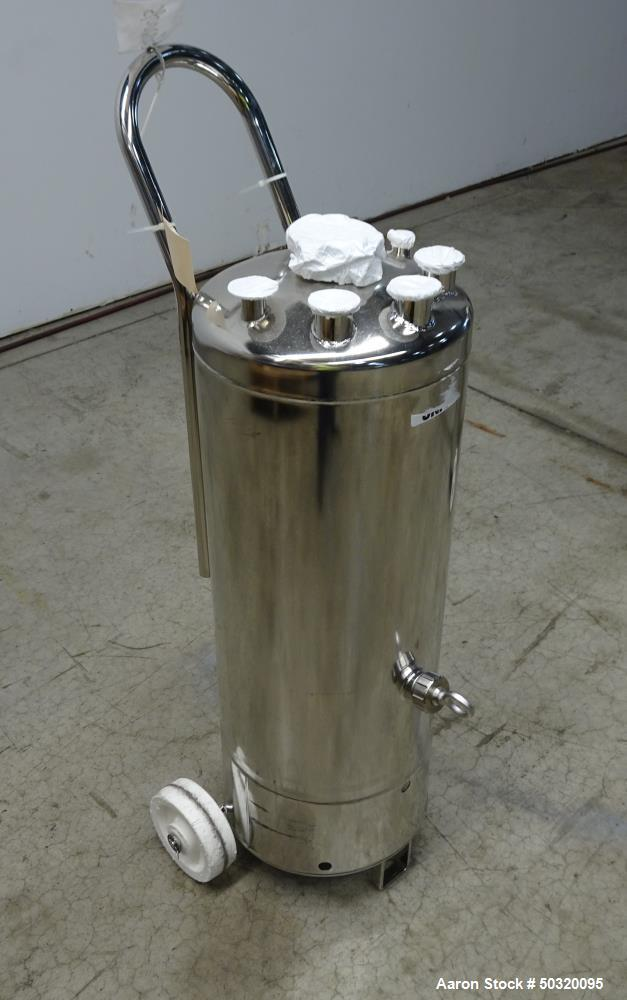 Used- Alloy Products Pressure Tank, Approximate 42 Liter, 316L Stainless Steel