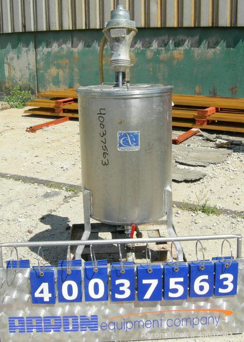 Used- 25 Gallon Stainless Steel Alsop Tank, Model 25DD