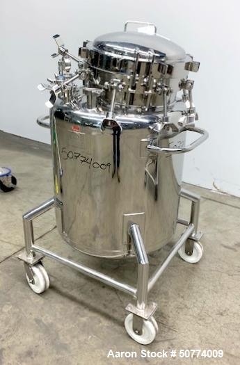 Used- B&G Custom Pressure Tank, 150 Liters