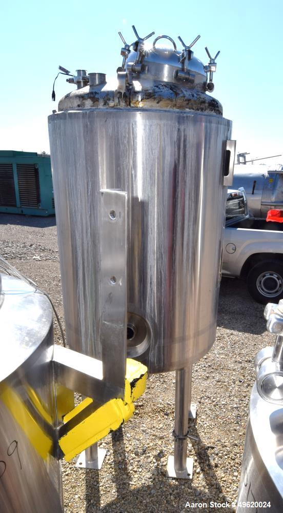Used- DCI Pressure Tank, 900 Liter (237 Gallon), 316L Stainless Steel