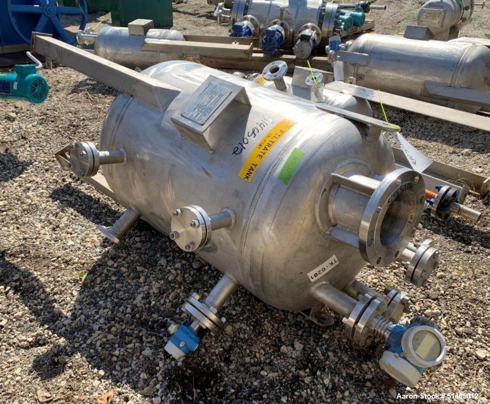 100 Gallon Stainless Steel Pressure Tank
