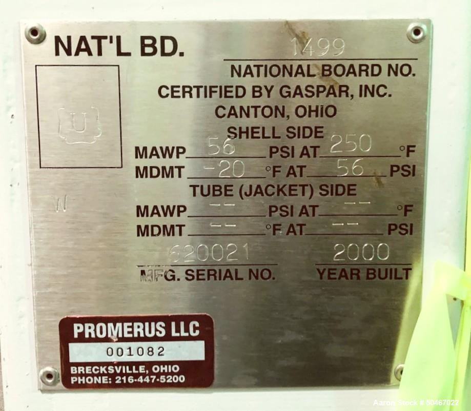 Used-150 gallon Gaspar receiver tank