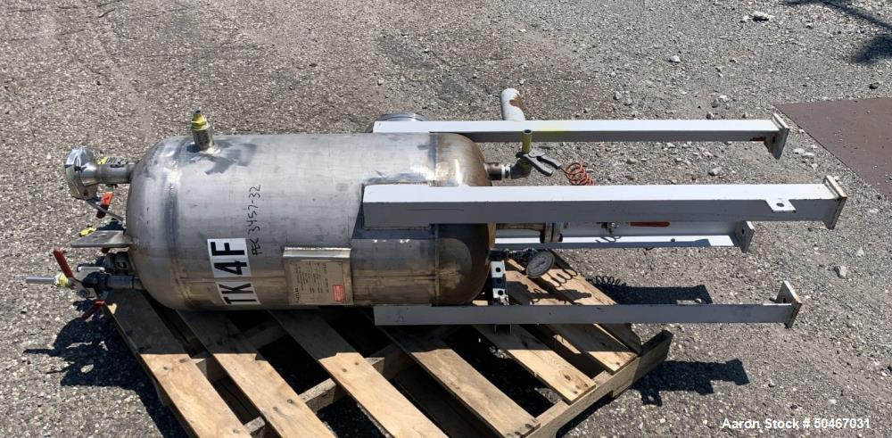 Used-25 gallon Gaspar receiver tank