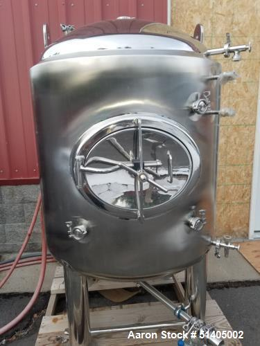 Used- Glacier Tanks 5 BBL Jacketed Brewery Tank