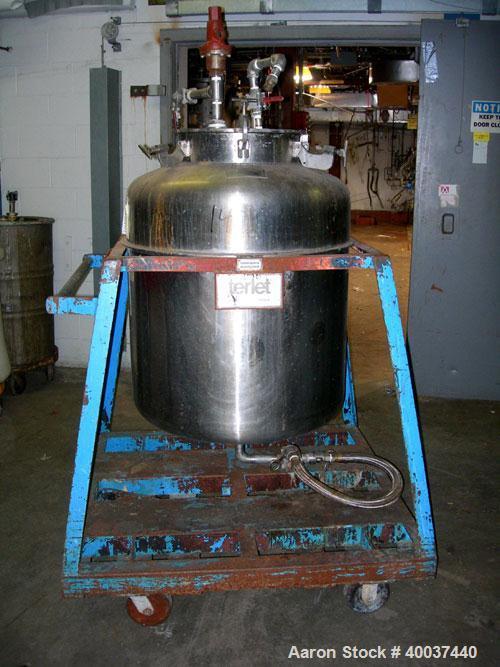 Used- 100 Gallon Stainless Steel Javo N.V. Alkmaar Pressure Tank