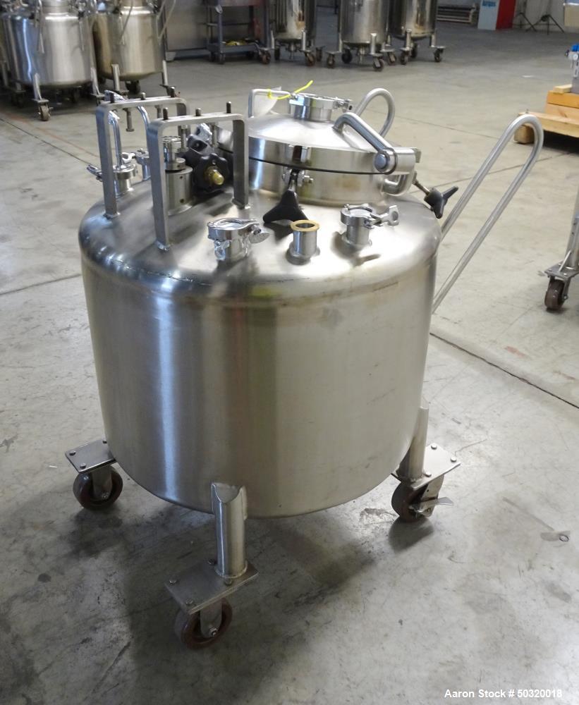 Used- Lee Industries Pressure Mix Tank, 250 Liter, Model 250 LDBT