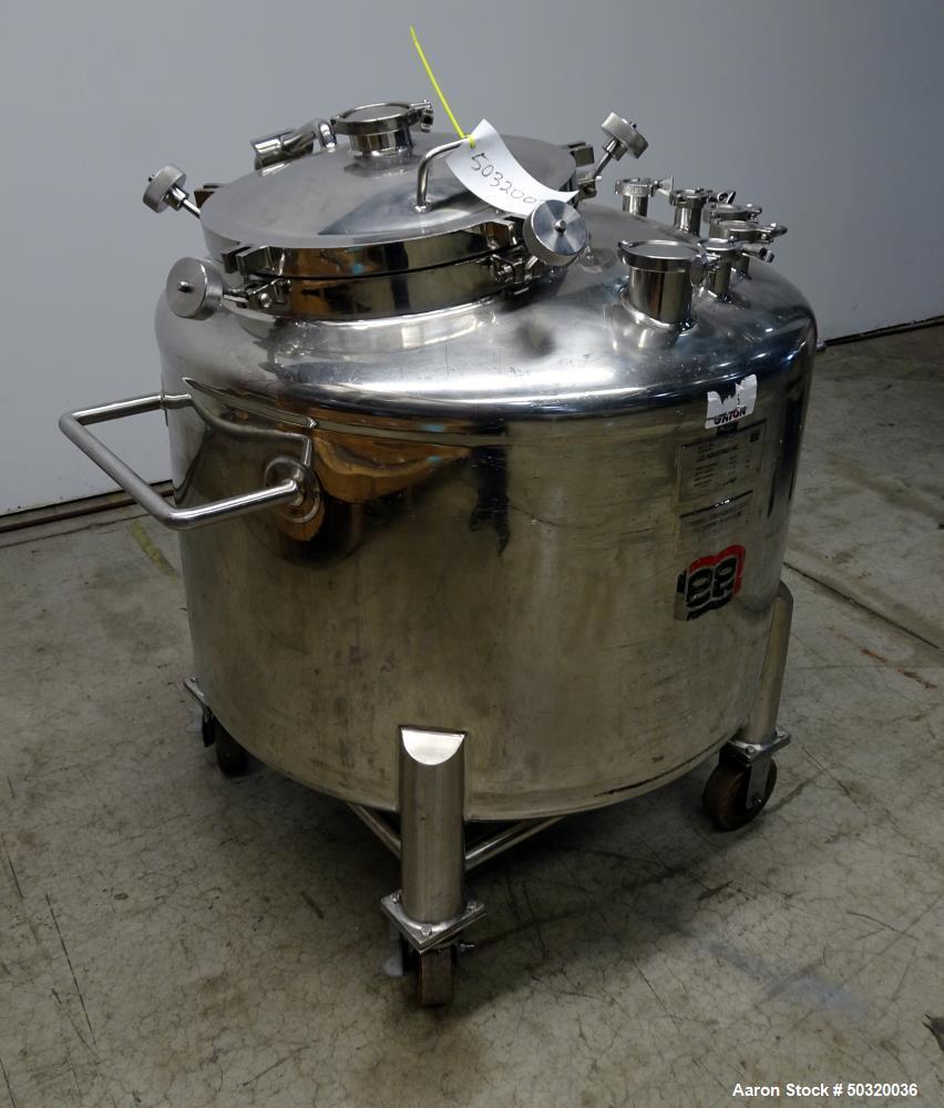 Used- Lee Industries Pressure Mix Tank, 500 Liter, Model 500 LDBT,