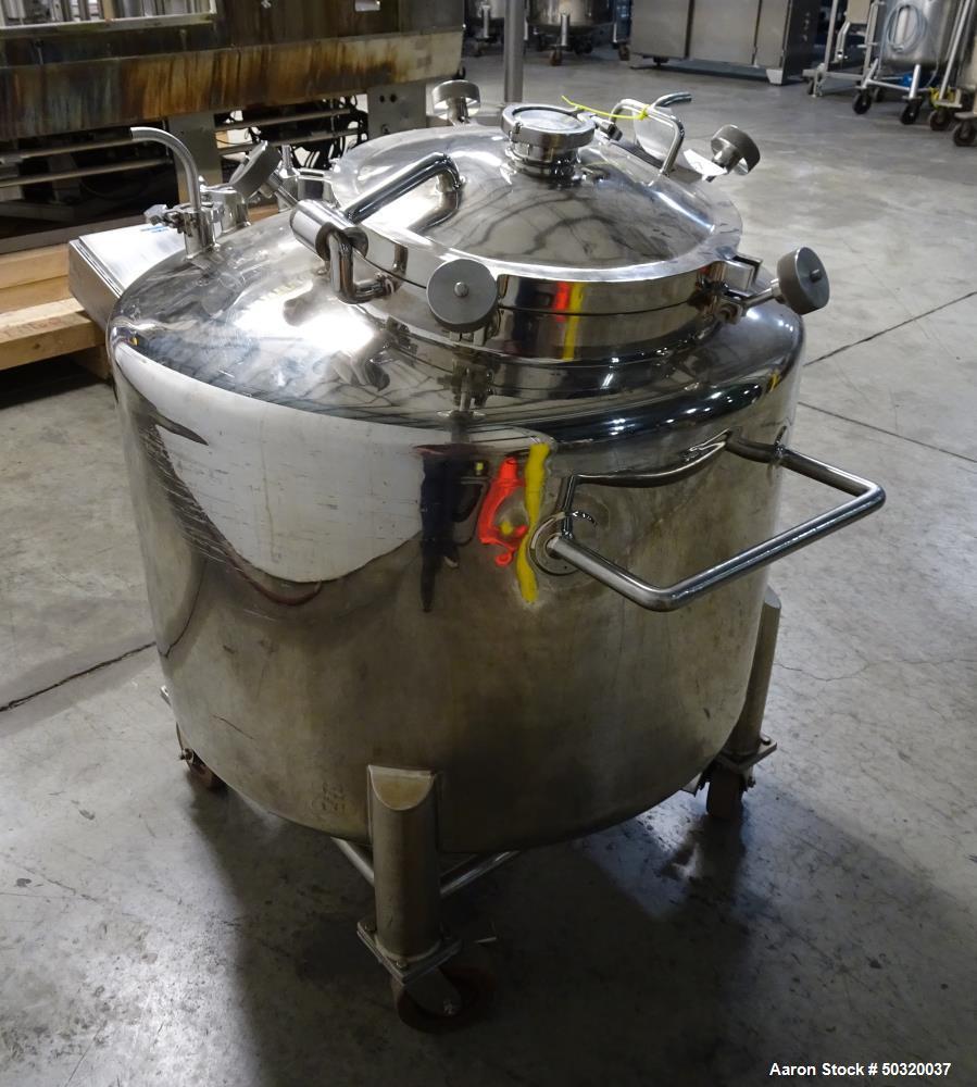 Used- Lee Industries Pressure Mix Tank, 500 Liter, Model 500 LDBT