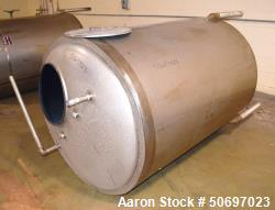 Used- Will-Flow Corp. Jacketed Tank, 350 Gallon