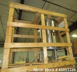 UNUSED- APV Crepaco 50 Gallon Single Wall Stainless Steel Tank