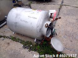 """Tank, 100 Gallon, 304 Stainless Steel, Vertical. Approximate 30"""" diameter x 30"""" straight side, dish..."""