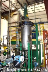 Used- Constructora Quimica Glycerin Neutralizer Pressure Tank, Approximate 65 Gallon, Duplex Stainless Steel, Vertical. Appr...