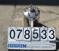 Used-  4.40 Gallons Stainless Steel Pressure Tank