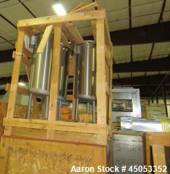 """UNUSED- APV Crepaco 20 Gallon Single Wall Stainless Steel Tank. Has 2.5"""" sprayball with a 270 degree pattern at up to 40 gpm..."""