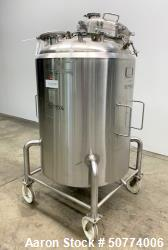 Used- Cherry Burrell Pressure Tank, 750 Liters