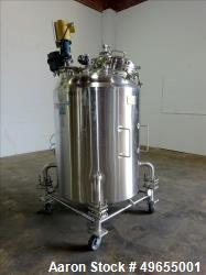 Used- Cherry Burrell 700 Liter / 184 gallon Reactor, Stainless Steel.