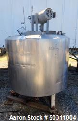 Used- The Creamery Package Pasteurizer Tank, Approximately 300 Gallon,