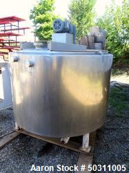 Used- Damrow Brothers Pasteurizer Tank, Model 400-GA, Approximately 400 Gallon.