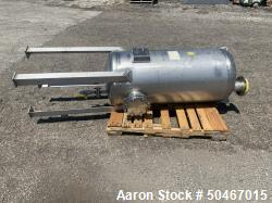 Used- Four Corp 90 gallon Receiver Tank, 304 Stainless Steel.
