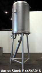 Used- 275 Gallon Stainless Steel Japrotek Pressure Tank