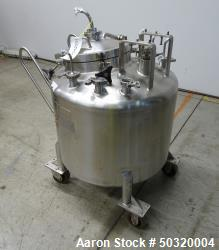 Used- Lee Industries Pressure Mix Tank, 250 Liter, Model 250 LDBT,