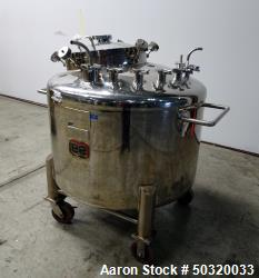Used- Lee Industries Pressure Mix Tank, 500 Liter, Model 500 LDBT,