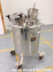 Used-Lee Industries 200LDBT 200 Liter Stainless Steel Vacuum Kettle- 250LDBT 250 Liter Stainless Steel Vacuum Kettle- Polish...