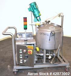 Used- Marchant Schmidt Liquid Spray Applicator System, Stainless Steel