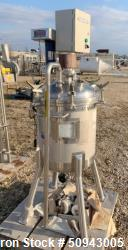 Used- Precision Stainless Pressure Tank, 120 Liter (31.7 Gallon)