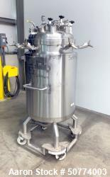 Used- Precision Stainless Pressure Tank, 300 Liters