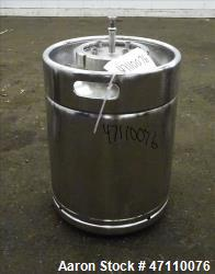 Used- Bolz Rutten Sterile Storage Systems Pressure Tank, 13.2 Gallon
