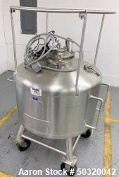 Used- Sharpsville Pressure Mix Tank, 200 Liter, Model 200 Liter