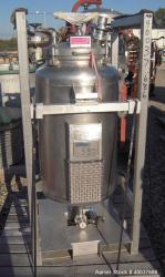 Used- 52 Gallon Stainless Steel Terlet Terlotherm Pressure Tank