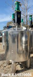 REC Industries Mix Tank, Approximately 350 gallon