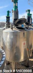 REC Industries 350 Gallon Stainless Steel Mix Tank