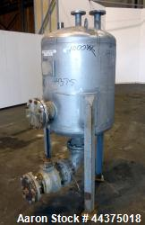 "Wolfe Mechanical And Equipment Pressure Tank, 105 Gallon, 316 Stainless Steel, Vertical. 30"" diamet..."