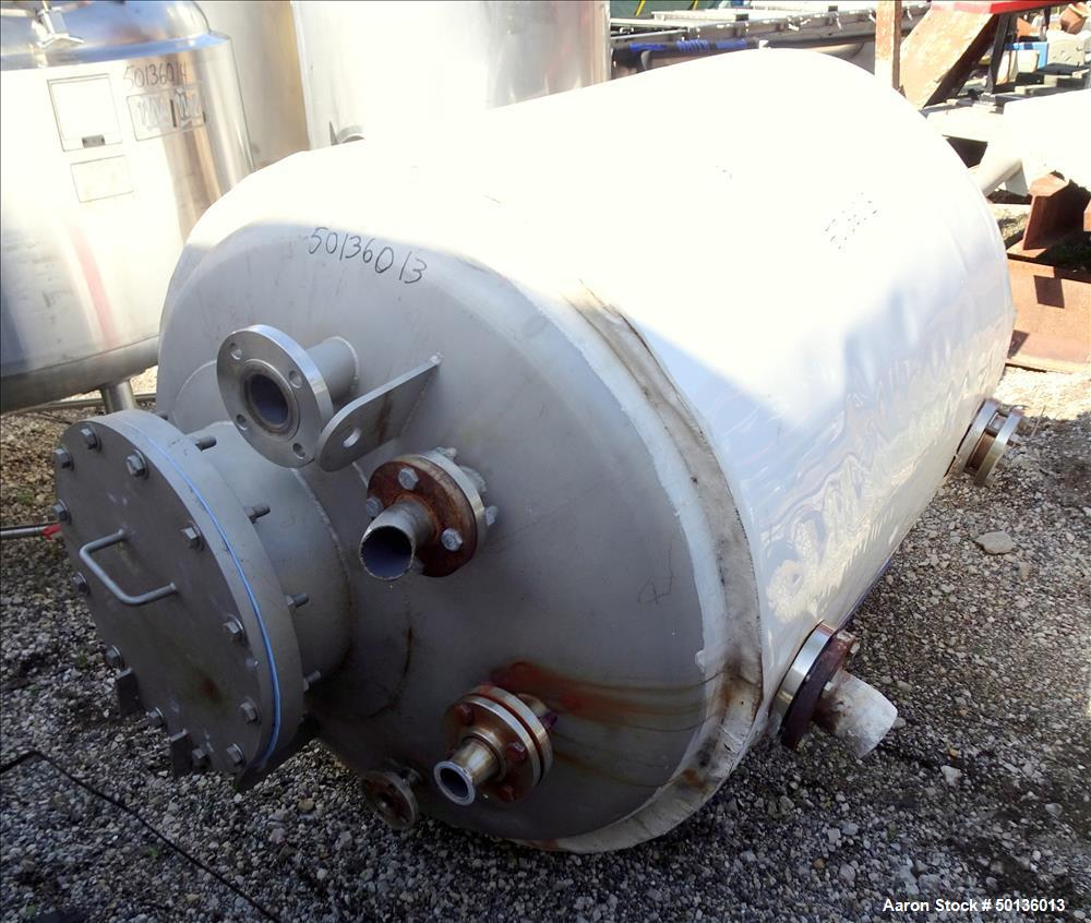 Used- Martin Petersen Company (MPC) Pressure Tank, Approximate 150 Gallon, Stain