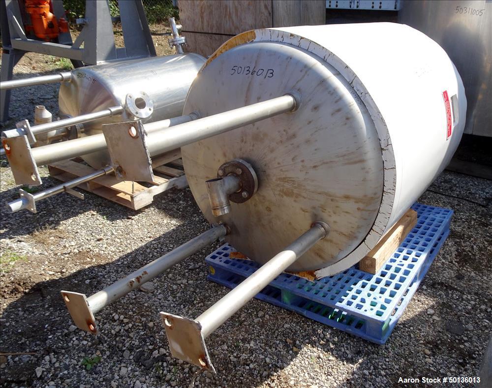Used- Martin Petersen Company (MPC) Pressure Tank, Approximate 150 Gallon, Stain