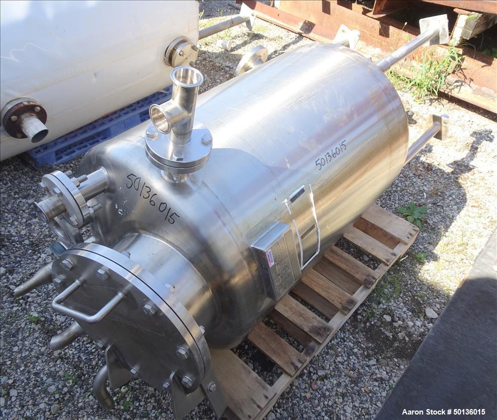 Used- Northland Stainless Pressure Tank, Approximate 100 Gallon, 304L Stainless