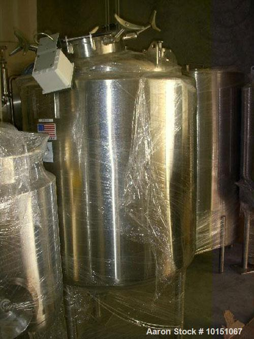Used-Unused 500 Liter Stainless Steel Precision Stainless Tank