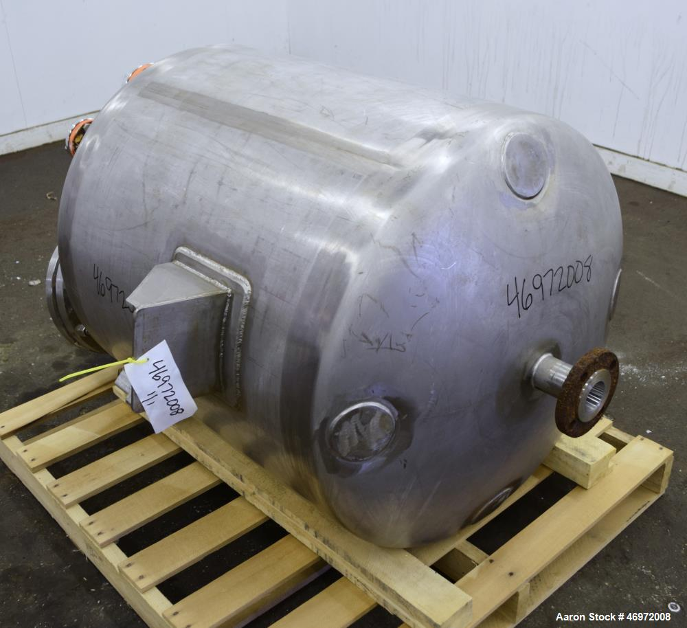 Used- Precision Stainless 100 Gallon Tank, 316 Stainless Steel