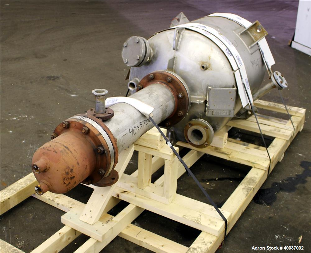 Used- 100 Gallon Stainless Steel Robert Mitchell Co Pressure Tank