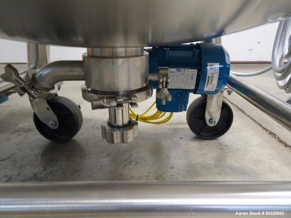 Used- Sharpsville Pressure Mix Tank, 200 Liter, Model 200 Liter