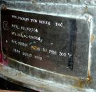 Used-Used: Buckley Iron Works pressure tank, 100 gallon, stainless steel, vertical. 30
