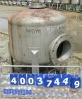 Used- Douglas Brothers tank, 100 gallon, 321 stainless steel, vertical. 36