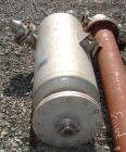 Used- Acme Receiver, 44 gallon, 304 stainless steel construction, 18